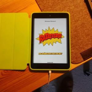 RATATATATA auf dem iPad