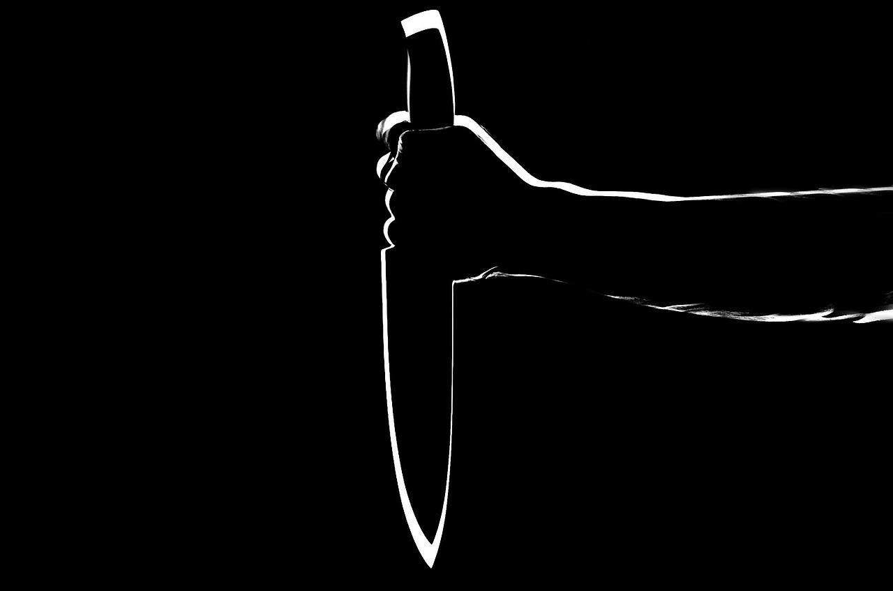 Das Messer.